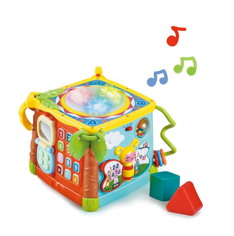 PLAY AND LEARN MUSICAL ACTIVITY CUBE - Children Islamic Collection