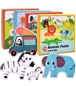 6 IN 1 PUZZLE IN A BOX - Children Islamic Collection