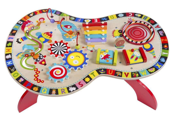 SOUND AND PLAY BUSY TABLE - Children Islamic Collection