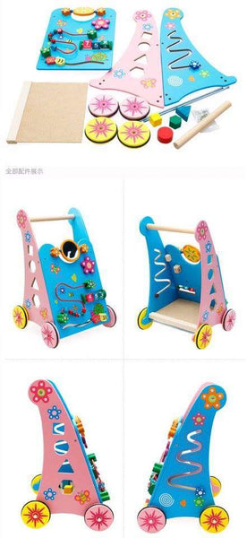 WOODEN CART LEARNING TO WALK - Children Islamic Collection