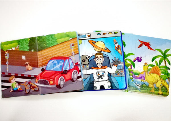 COMBO PUZZLE BOOK - Children Islamic Collection