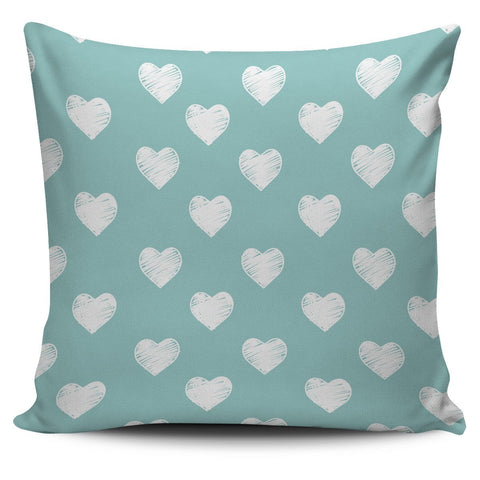 Scantron Heart Pillow Cover