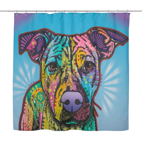 Pit Bull Shower Curtains - I