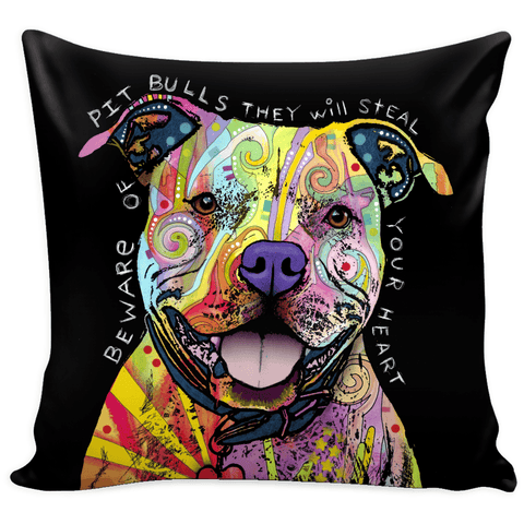 Dean Russo II Pit Bull Pillow Covers