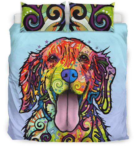 Golden Retriever Bedding Set