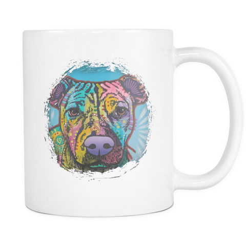 Dean Russo Pit Bull Mugs