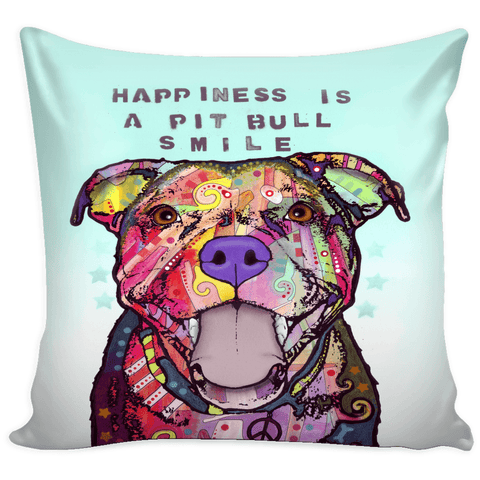 Dean Russo III Pit Bull Pillow Covers