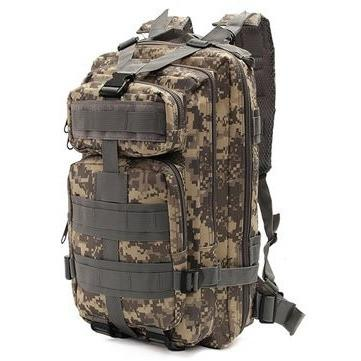 30L Waterproof Nylon Military Camo 3P Backpack