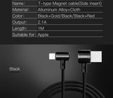 Enfonie Magnetic 2 in 1 reversible USB Charging Cable for Apple and Android Devices- Your last Charging Cable