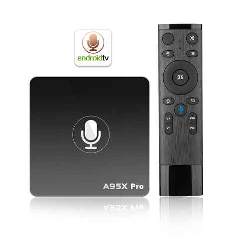 Enfonie A95X Pro Android Box Steaming Media Player 4K TV Box with Quad Core S905W 2GB/16GB