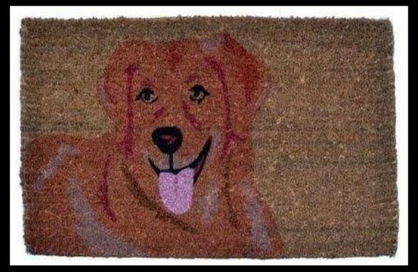 Dog Doormat-Golden Retriever
