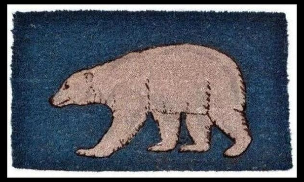 Animal Doormat-Polar Bear-Wildlife-Coir Mat