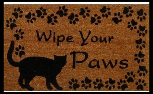 a funny humorous doormat will bring laughter and on the front porch