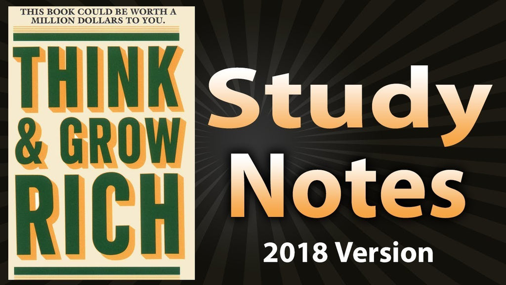Think and Grow Rich: Study Notes