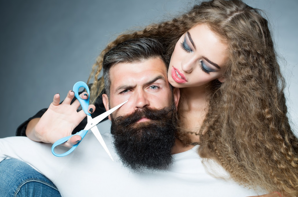 Dating a girl with facial hair