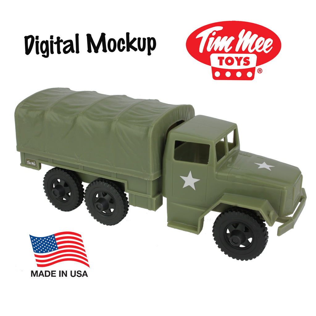 Tim Mee Deuce-and-a-Half Cargo Truck Reissue Digital Mockup