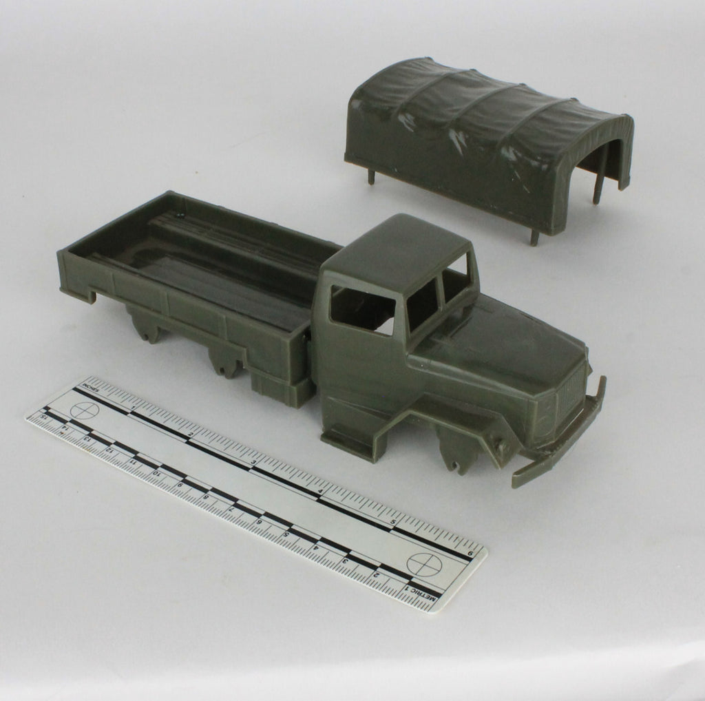 Vintage Tim Mee Deuce-and-a-Half Cargo Truck Parts
