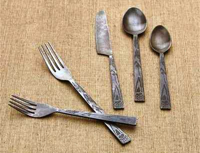 Bear Tracks Flatware Set - Set of 5
