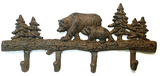 Cast Iron Bear Wall Hooks