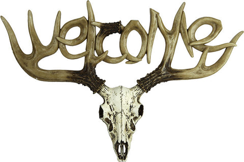 Euro Deer Welcome Sign