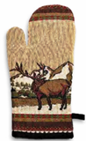 """Elk Country"" Oven Mitt"