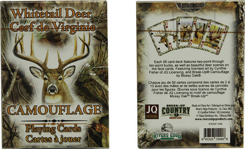Mossy Oak Deer Playing Cards