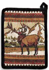 """Elk Life"" Pot Holder"