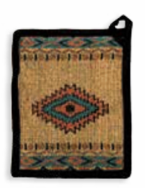 Diamond Arrow Southwestern Pot Holder
