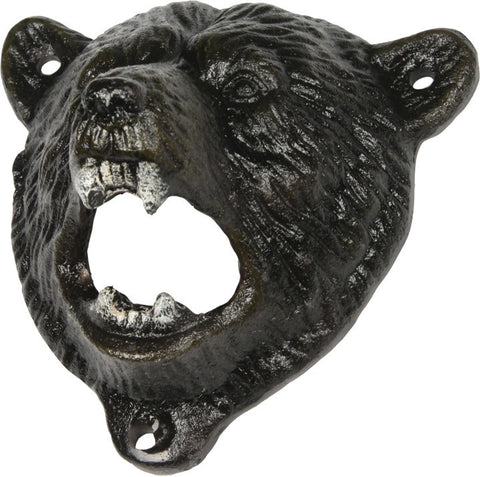 Bear Cast Iron Bottle Opener