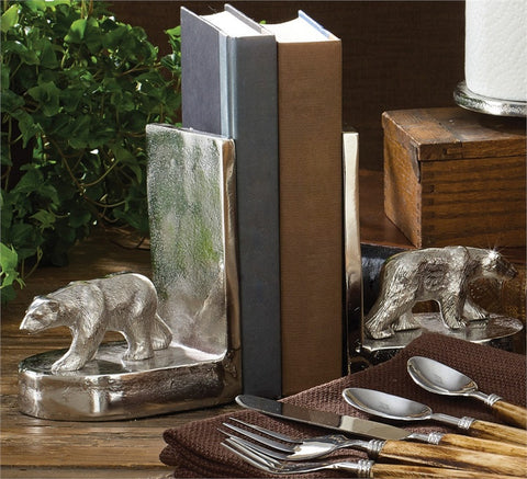 Bear Bookends Set