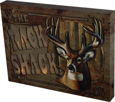 """RACK SHACK"" Lighted Wall Sign"