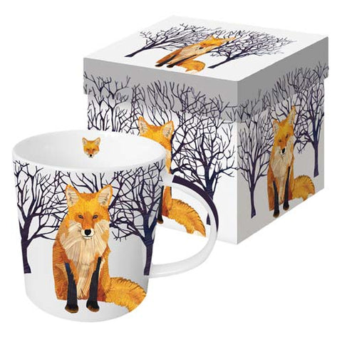 Fox Winter Soltice Mug