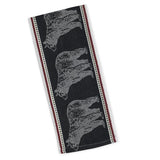 Bear jacquard dishtowel