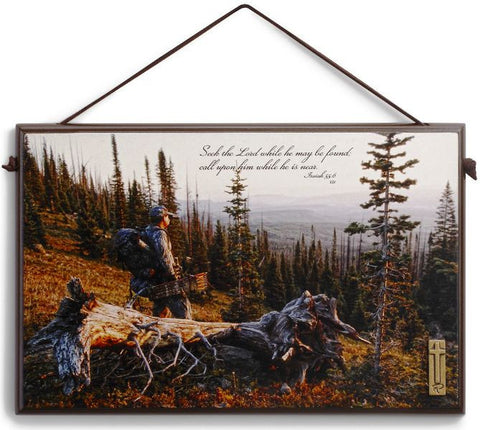 Bow Hunter Plaque