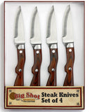 Big Shot Steak Knife - Set of 4