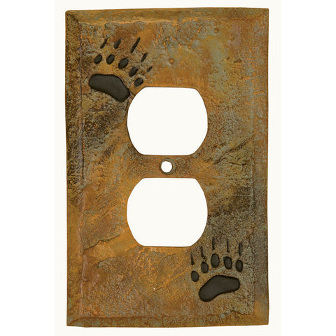 Bear Track Outlet Cover