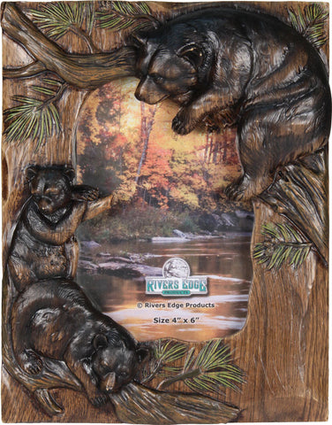"Bear Family Picture Frame - 4"" x 6"""