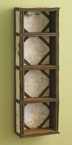 Birch and Twig 4-Tier Shelf