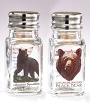 Black Bear Salt & Pepper Set