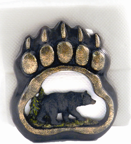 Bear Paw Napkin Holder