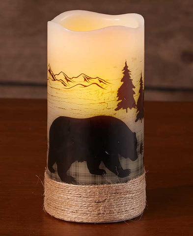 Bear LED Candle