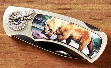 Bear 3-D Pocket Knife