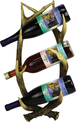 Antler Wall Mount Wine Holder