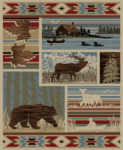 """Maple Valley""  Area Rug  - Various Sizes"