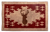Deer Northwoods Bath/Accent Rug