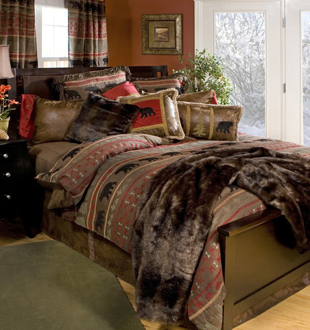 Bear Country Bedding Set - Various Sizes