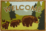 Bears Welcome accent rug