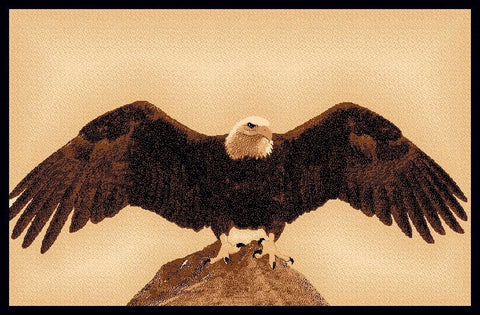 """Eagle"" Area Rug - Various Sizes"