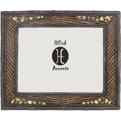 "Twig & Stone Lodge Photo Frame - 4"" x 6"""