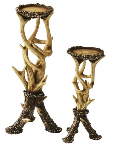 Antler Candle Holders (2-Piece Set)